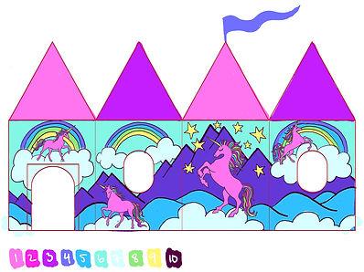 Unicorn Play Tent by Lauren Aldrich
