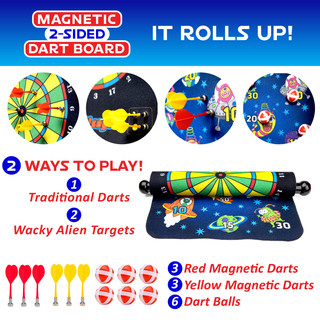 Magnetic Dart Board Design