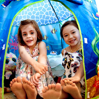 Under the Sea Play Tent Lifestyle Photo