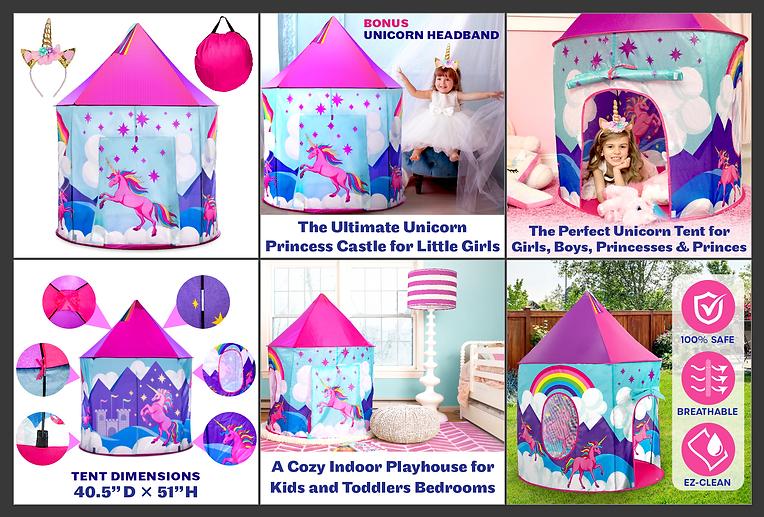 Unicorn Tent Listing Screencap