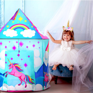 Unicorn Tent Redesign by Lauren Aldrich for USA Toyz