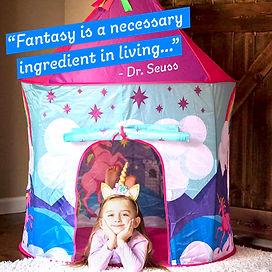 Unicorn Tent image from Instagram