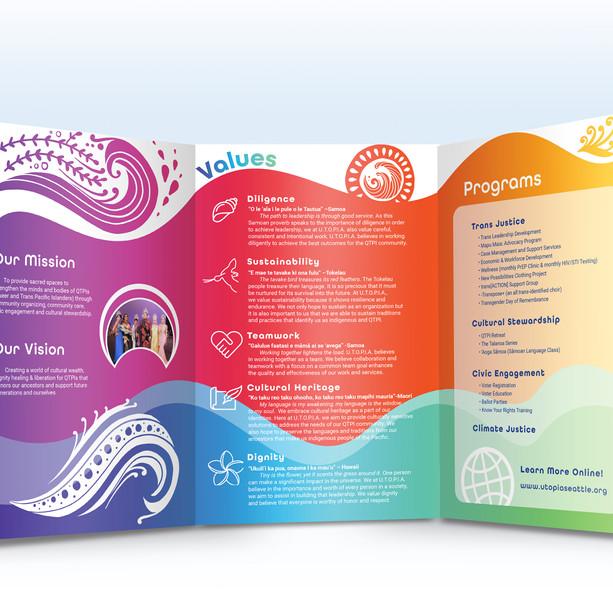 Brochure Design for U.T.O.P.I.A.