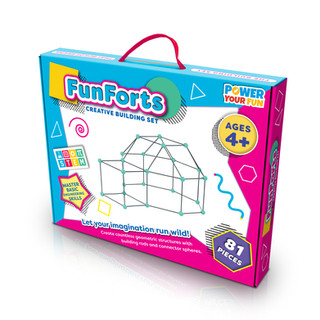 Build-a-Fort Packaging Design by Lauren Aldrich