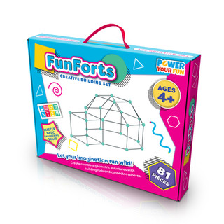 Build-a-Fort Packaging Design by Lauren Aldrich