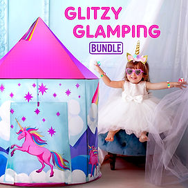 Glizy Glamping Bundle photo composite by Lauren Aldrich