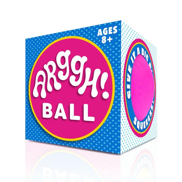 Jumbo Stress Ball Packaging, Logo and Branding