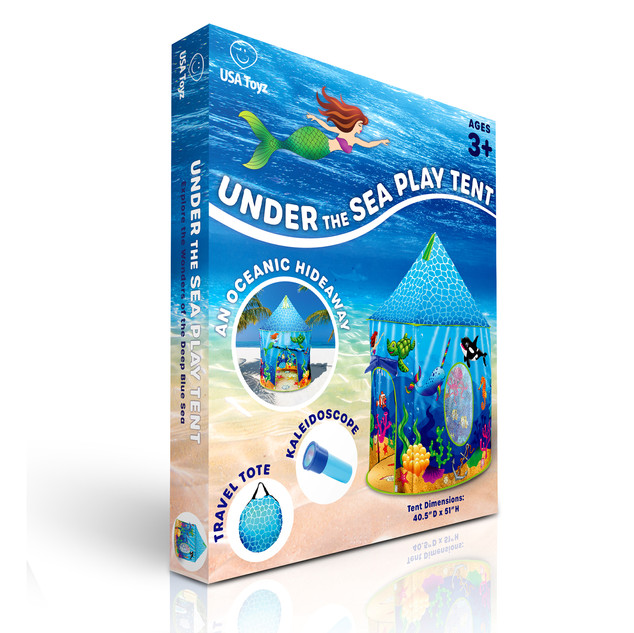 Packaging Design for Under the Sea Tent