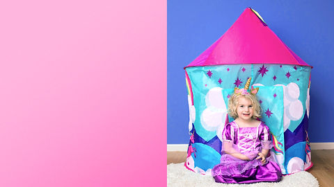 Slideshow video for the Unicorn Tent to be used on YouTube and in Amazon Live broadcasts