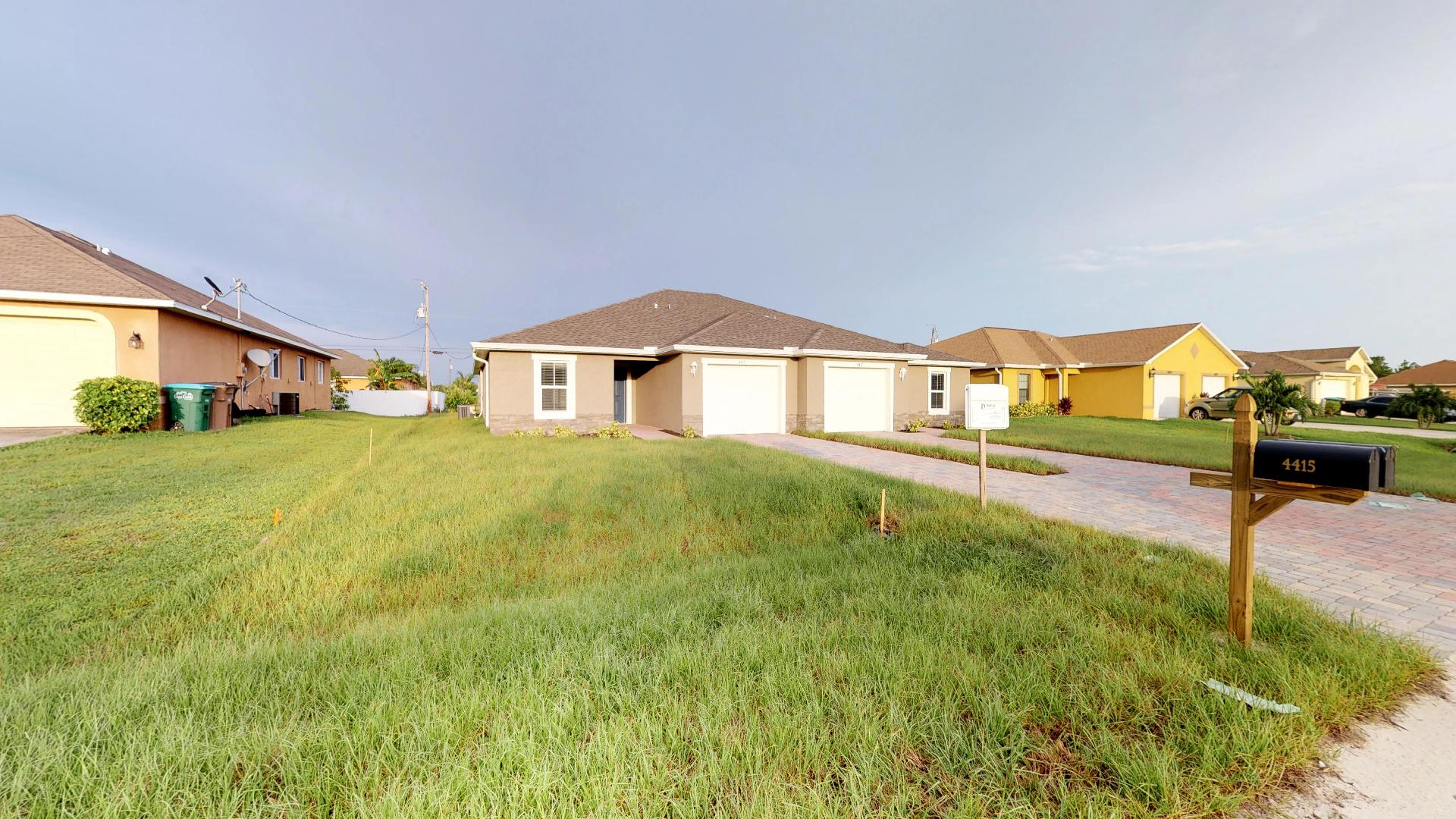 Cape Coral Duplex - Cover