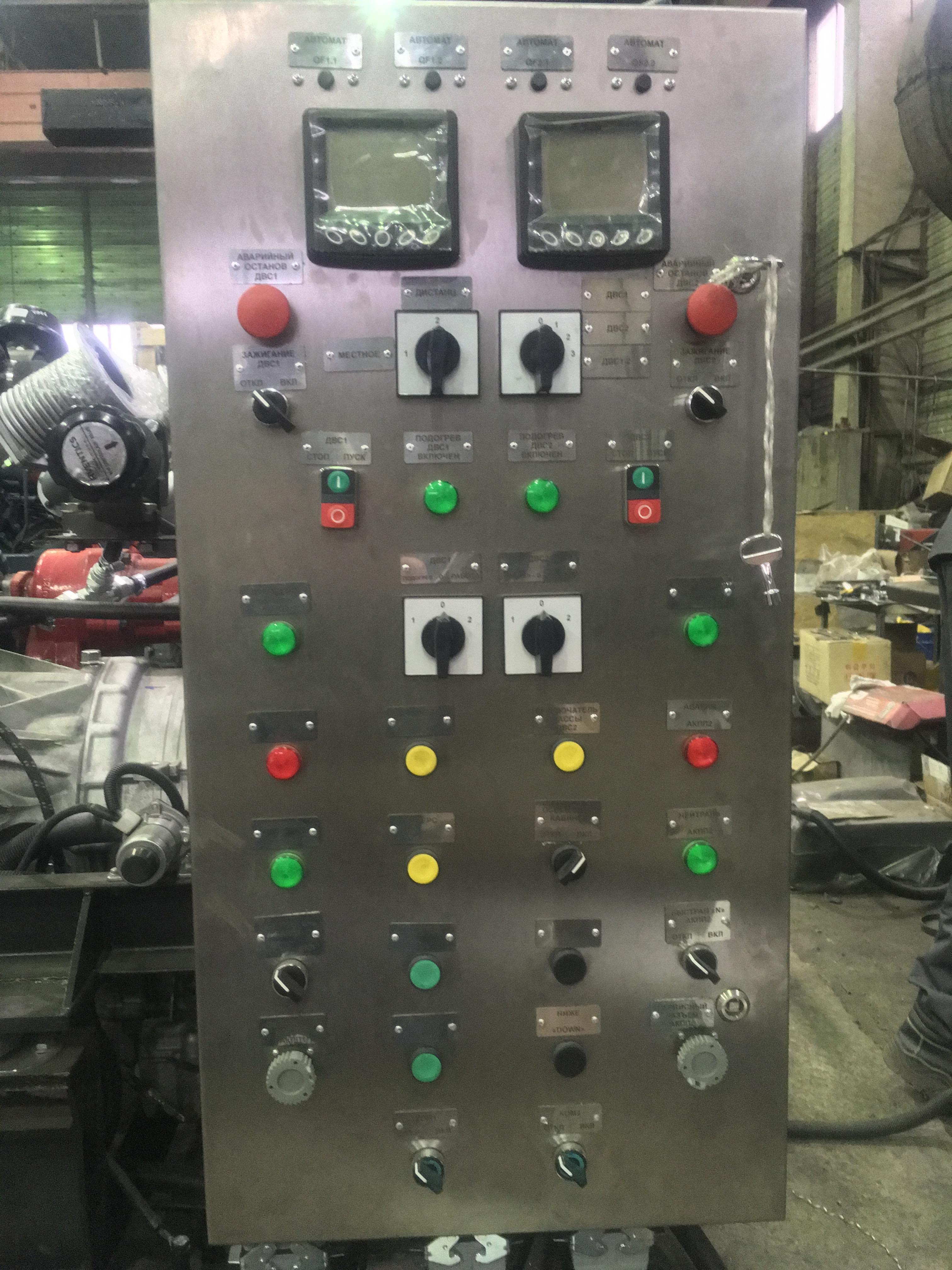 Силовой агрегат на базе Doosan PU158TI с АКПП ALLISON