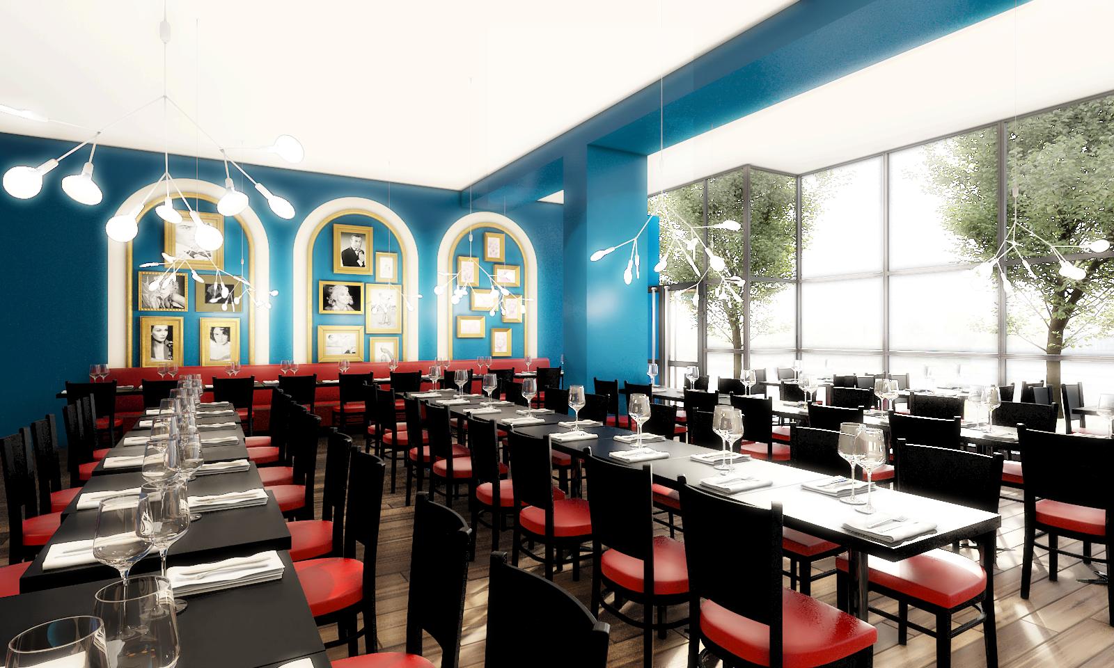 décoration restaurant italien PARIS