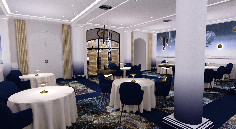 decoration restaurant Paris