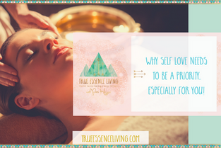 Why self love needs to be a priority, especially for  you!