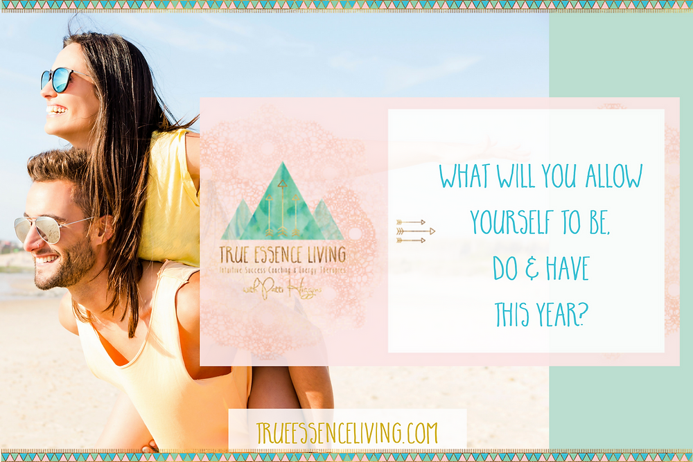 What will you allow yourself to enjoy this year