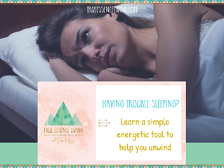 Having trouble sleeping? Learn a simple energetic tool to help you unwind.