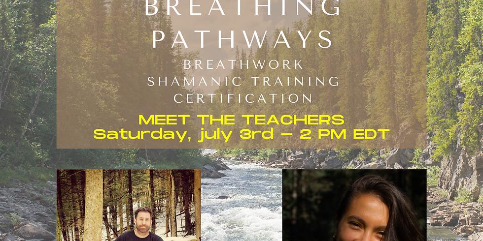 Meet the Teachers (Breathwork Certification Training)