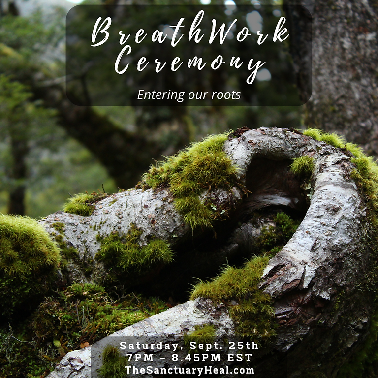 Breathwork Ceremony - Entering our roots