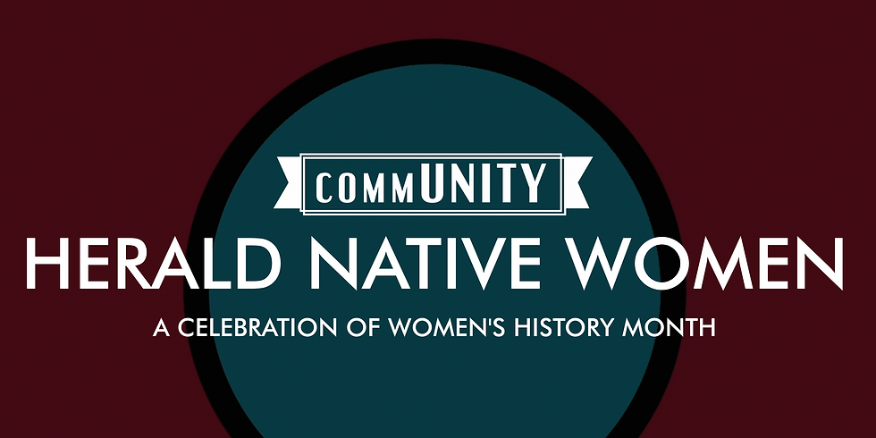 A celebration of Women's History Month - Films by & About Native Women