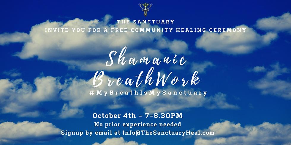 Shamanic Breathwork - Free ceremony