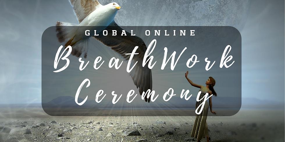 Breathwork Ceremony - ONLINE