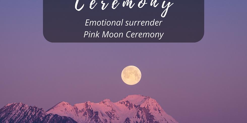 Breathwork Ceremony - Emotional Surrender, Pink Moon Ceremony