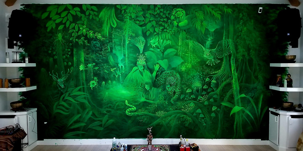 Come meet world renown Medicine Peruvian Painter Mauro Reategui Perez