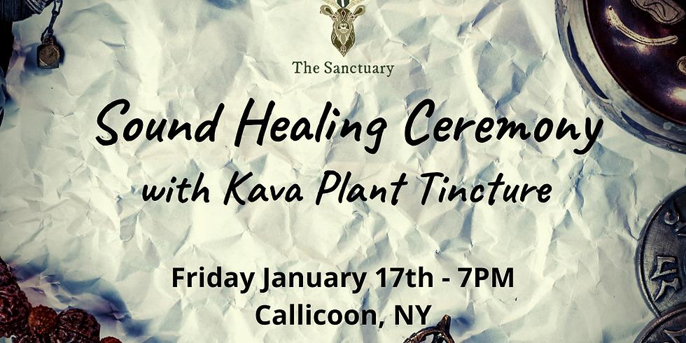 Sound Healing Ceremony with Kava Medicine