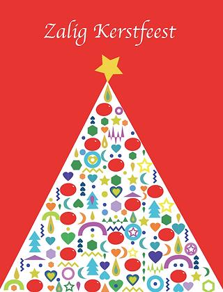 Zalig Kerstfeest kaartje
