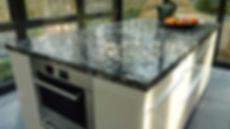 Kitchen Island Countertop Black Marinace