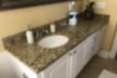 Granite Bathroom Countertop Santa Cecilia