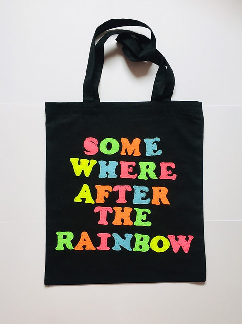 Somewhere After The Rainbow Statement Bag