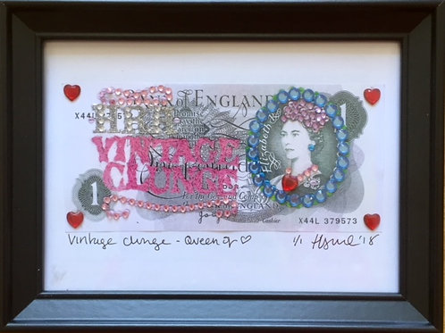 Vintage Clunge - Queen of Hearts