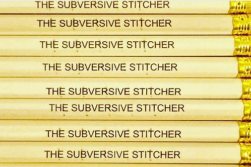 Subversive Stitcher Pencil
