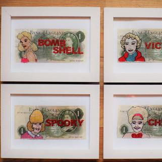 Four British Blondes