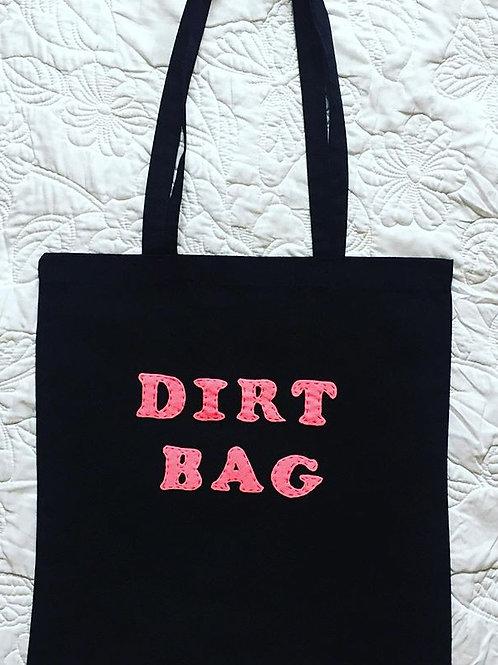 Dirt Bag Black Tote Bag
