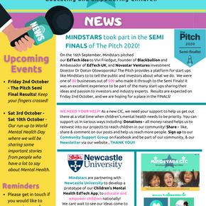 Mindstars CIC Newsletter 19/09/2020