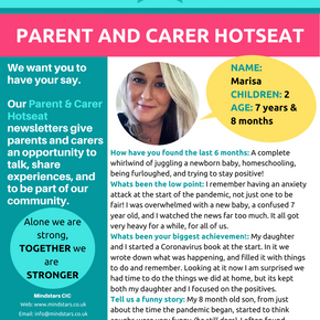 Parent & Carer Hotseat Issue 1