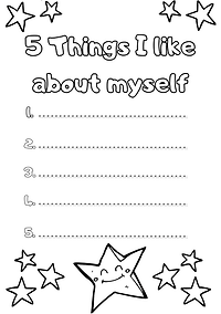 5 things I Like about myself RESOURCE (1