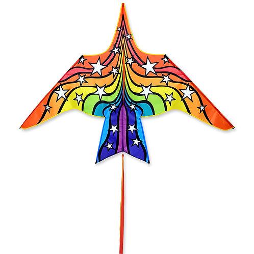 60in THUNDERBIRD KITE - RAINBOW STARS