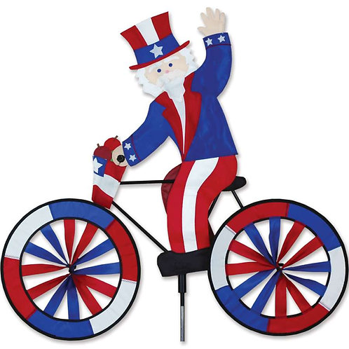 30in UNCLE SAM BICYCLE SPINNER