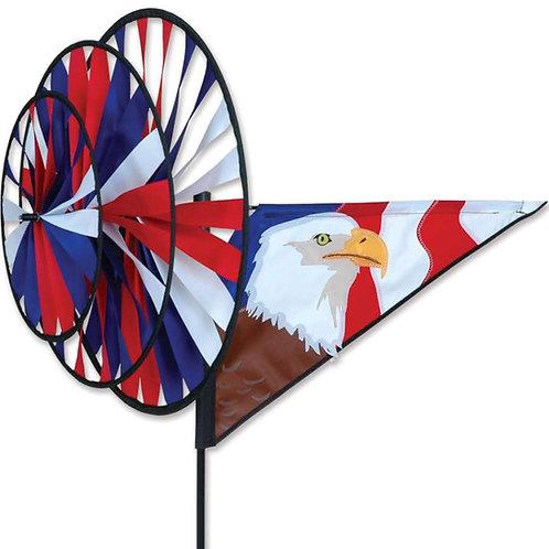 PATRIOTIC EAGLE TRIPLE SPINNER