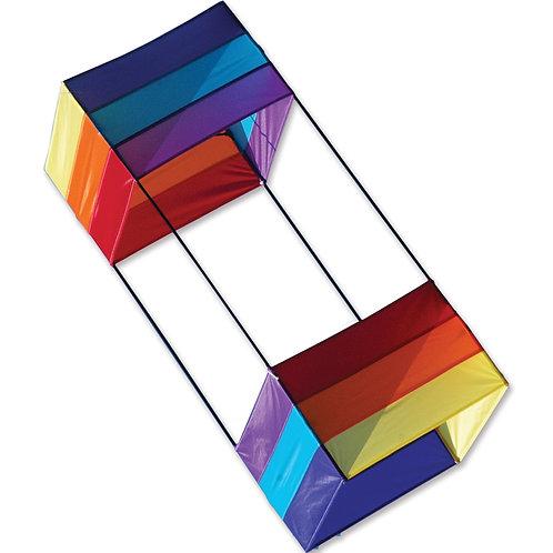 "40"" BOX KITE -RAINBOW"