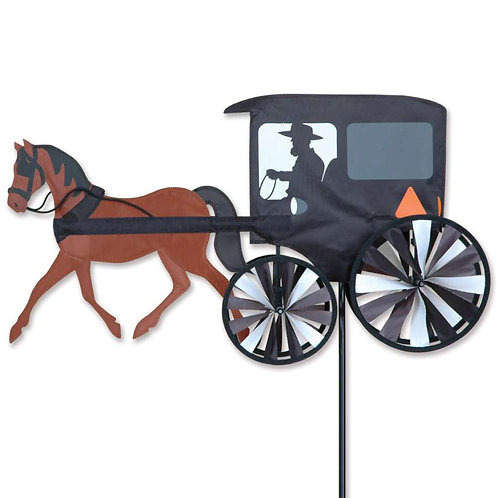 26in HORSE & BUGGY SPINNER