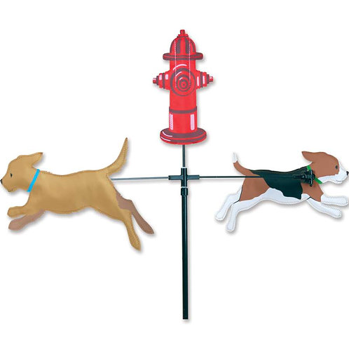 28in DOGS SINGLE CAROUSEL SPINNER