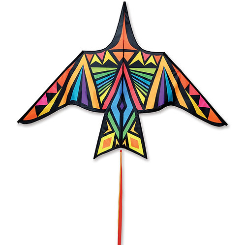 90in THUNDERBIRD KITE - RAINBOW GEOMETRIC