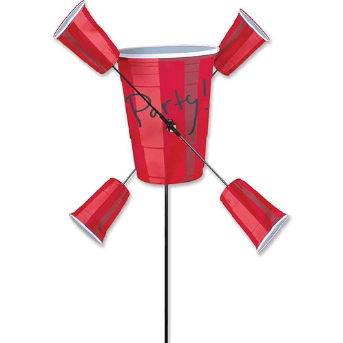 15in PARTY CUP WHIRLIGIG SPINNER