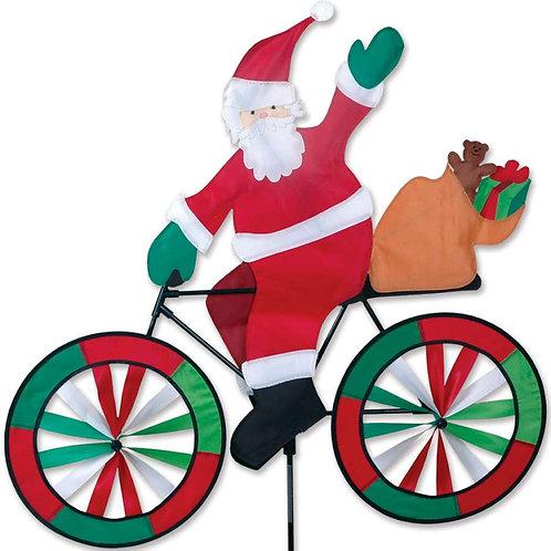 30in SANTA BICYCLE SPINNER