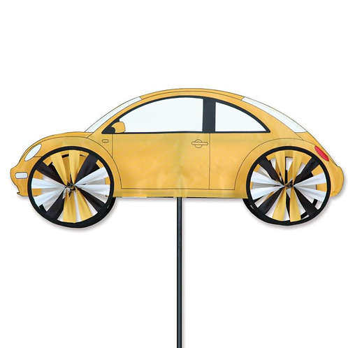 24in YELLOW VW BEETLE SPINNER