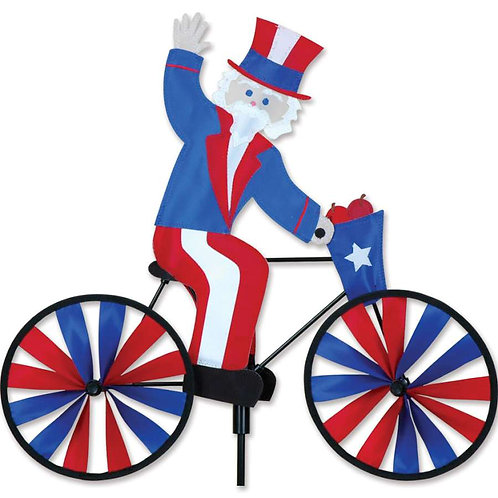 20in UNCLE SAM BICYCLE SPINNER